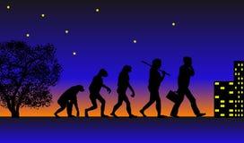 Évolution illustration stock