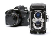 évolution d'appareils-photo Images libres de droits