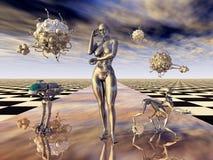 Évolution humaine Photos stock