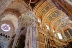 ÉVORA, PORTUGAL - 9 DE OUTUBRO DE 2016: Os tetos dentro do SE da catedral fotos de stock royalty free
