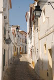 Évora. Is a Portuguese city, the largest in the Alentejo region and capital of the district of the same name. It is home to the second-oldest university royalty free stock images
