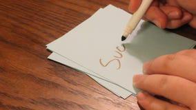Éxito de la escritura