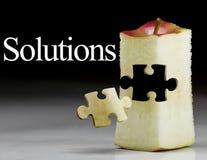 Éxito de la solución; comercialización Ap Fotografía de archivo