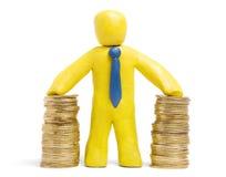 Éxito de las finanzas imágenes de archivo libres de regalías