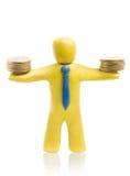 Éxito de las finanzas imagen de archivo libre de regalías