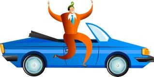 Éxito del coche Imágenes de archivo libres de regalías