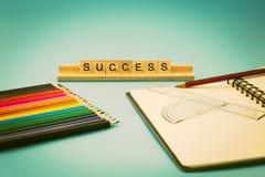 Éxito educativo Foto de archivo