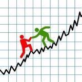 Éxito empresarial stock de ilustración