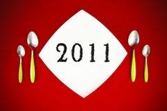 Éxito en el Año Nuevo Imágenes de archivo libres de regalías