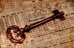 Éxito financiero Fotos de archivo