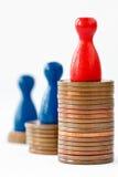 Éxito financiero Fotografía de archivo libre de regalías