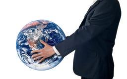 Éxito global de la estrategia del asunto   Fotos de archivo libres de regalías