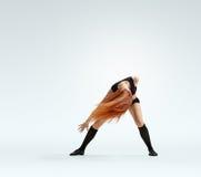 Éxtasis de la muchacha del bailarín Imagen de archivo libre de regalías