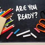 Êtes-vous prêt ? image stock