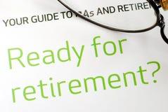 Être prêt pour la retraite Image libre de droits