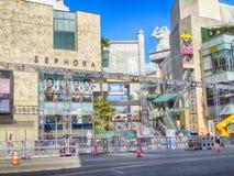 Être prêt pour les oscars à Hollywood images stock