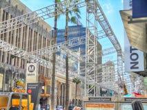 Être prêt pour les oscars à Hollywood photographie stock