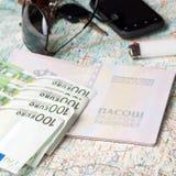 Être prêt pour un voyage Photos stock
