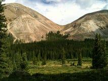 Êxodo da montanha Fotografia de Stock