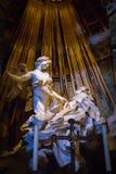 A êxtase de St Teresa foto de stock