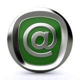 Ícone 3d do correio Imagem de Stock Royalty Free