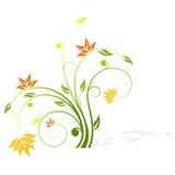 Ícone abstrato da flor Imagem de Stock Royalty Free