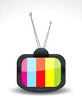 Ícone abstrato da televisão Imagem de Stock Royalty Free