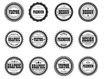 Ícone ajustado da concessão para estúdios do projeto Fotos de Stock