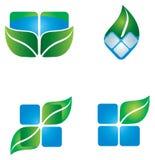 Ícone ambiental Fotos de Stock Royalty Free