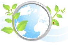 Ícone ambiental Fotografia de Stock Royalty Free
