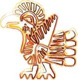 Ícone americano da cultura ilustração royalty free