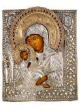 Ícone antigo da igreja Fotografia de Stock