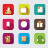 Ícone bonito do app Imagens de Stock Royalty Free