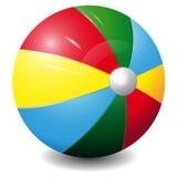 Ícone brilhante da bola da cor isolado em um backgr branco Ilustração Royalty Free
