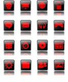 Ícone brilhante do Desktop Ilustração Stock