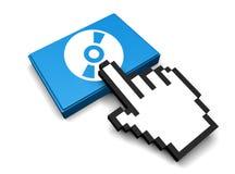 Ícone Cd Imagem de Stock