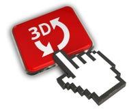 ícone 3D Fotografia de Stock