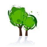 Ícone da árvore Fotografia de Stock Royalty Free