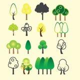 Ícone da árvore ilustração do vetor