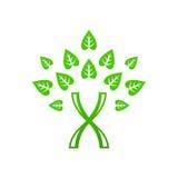 Ícone da árvore do ADN ilustração royalty free