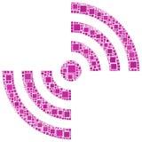 Ícone da antena Imagem de Stock