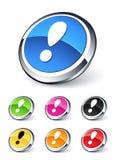 Ícone da atenção Imagem de Stock