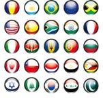 Ícone da bandeira Fotos de Stock