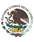 Ícone da bandeira mexicana Foto de Stock Royalty Free
