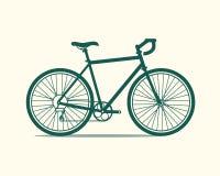 Ícone da bicicleta Imagem de Stock