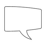ícone da bolha da conversação ilustração do vetor