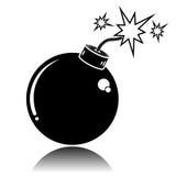 Ícone da bomba Ilustração Royalty Free
