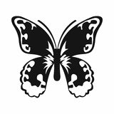 Ícone da borboleta, estilo simples Fotos de Stock