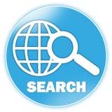 Ícone da busca Imagens de Stock Royalty Free