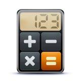 Ícone da calculadora Imagem de Stock Royalty Free